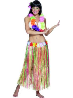 Hula Skirt Multicoloured