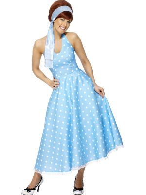 50'S Style Polka Dot Dress