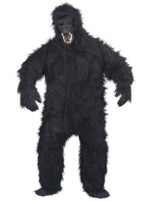 Gorilla Black Costume  23907