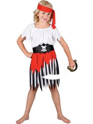 High Seas Pirate Girl Costume  EG-3554