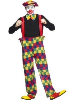 Hooped Clown Costume  96312