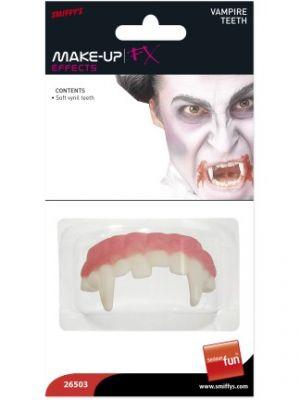 Horror Vampire Teeth White 26503