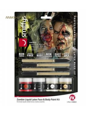 Horror Zombie Liquid Latex Kit 46227