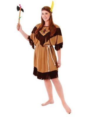 Indian Lady Costume  AC593