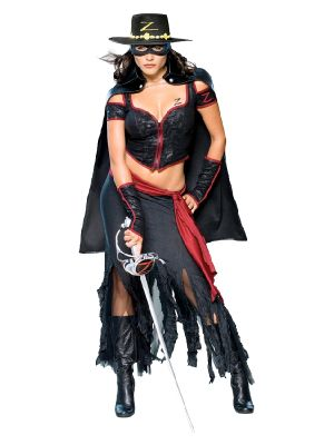 Lady Zorro Costume  888655