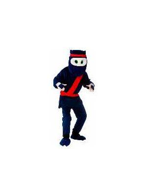 Cartoon Ninja Mascot Costume MA-8575