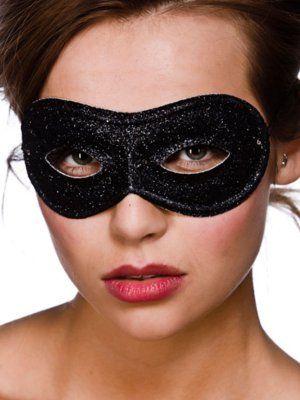 Black Glitter Eyemask MK-9801
