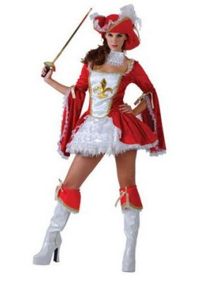 Madame Musketeer Costume  SF-0116