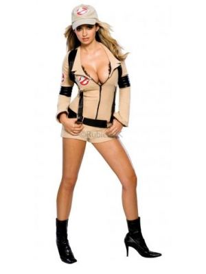 Miss Ghostbuster Costume  888607