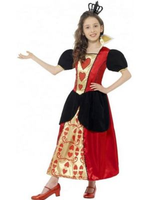 Miss Hearts Girls Costume  44458