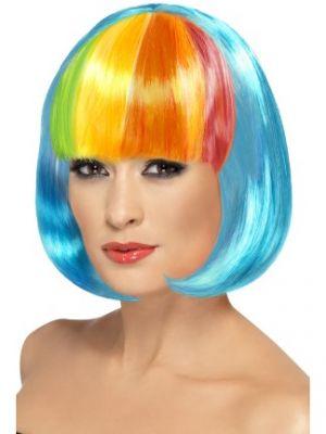 Partyrama Wig Neon Blue 42441