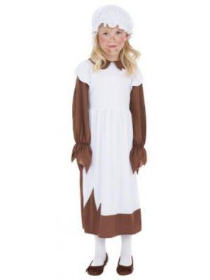 Poor Victorian Girls Costume  38637