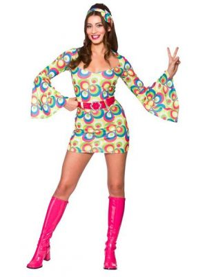 Retro Go Go Girl Costume  EF-2205