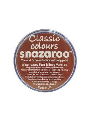 Rust Brown Snazaroo 18ml Face Paint 1118977