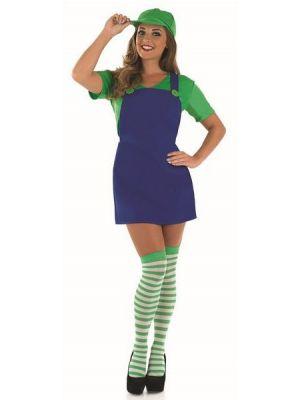Sexy Plumber's Mate Girl Costume  3957