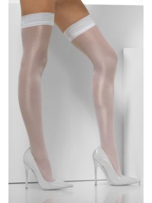 Sheer Shine Hold-Ups White 24625