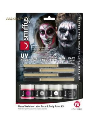 Neon Skeleton Liquid Latex Kit 46224