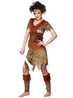 Stone Age Cave Girl Costume  EF-2160