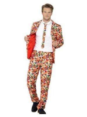 Smiffy's Sweet Suit Fancy Dress Suit 43436