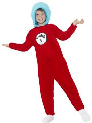 Thing 1 or Thing 2 Kids Costume  25732