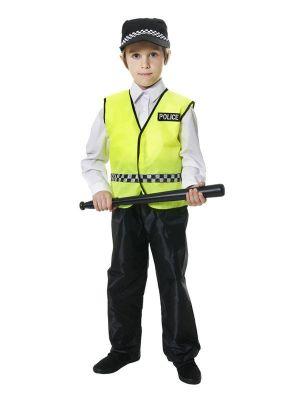 Policeman Kids Costume U20 162