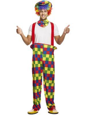 Rainbow Clown Costume U37 402