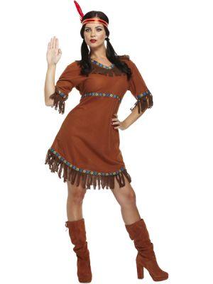 Red Indian Costume U38 692