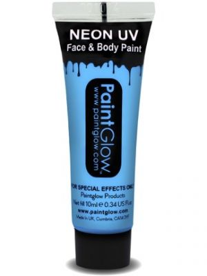 UV Face and Body Paint Baby Blue 45996