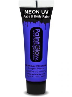 UV Face and Body Paint Blue 45987
