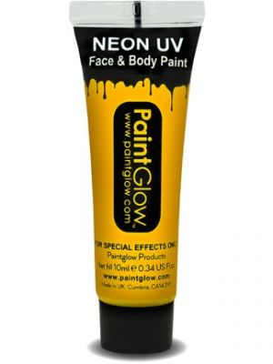 UV Face and Body Paint Bright Orange 45994