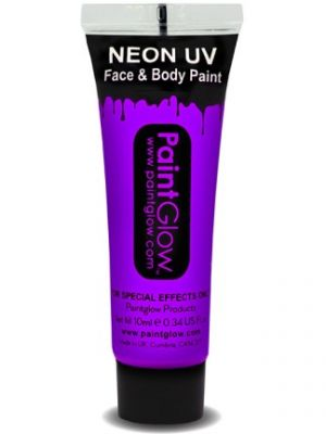 UV Face and Body Paint Violet 45991