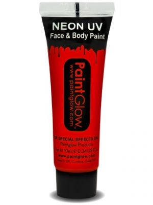 UV Face and Body Paint Red 45990