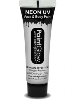 UV Face and Body Paint White 45992