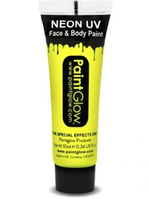 UV Face and Body Paint Yellow 45985