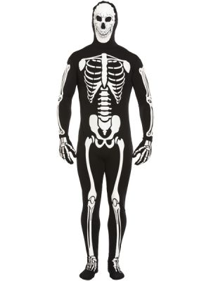 Halloween Adult Skeleton Mens Costume V20221