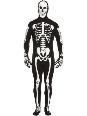 Halloween Adult Skeleton Mens Costume V20221