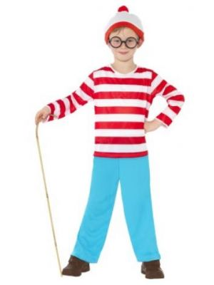 Where's Wally Kids Costume  39971