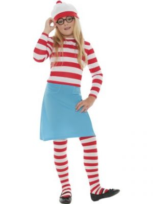 Where's Wally Wenda Costume  38793