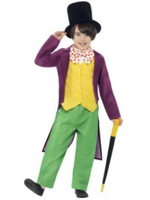 Willy Wonka Kids Costume  27141