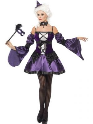 Witch Masquerade Costume  25436