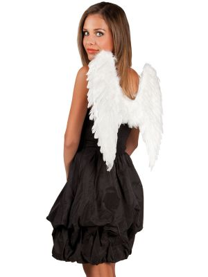 Angel Wings White 50cmx50cm 52798