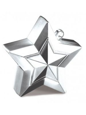 Balloon Weight Star Shaped Silver