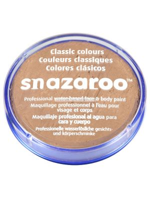 Barely Beige Brown Snazaroo 18ml Face Paint 1118909