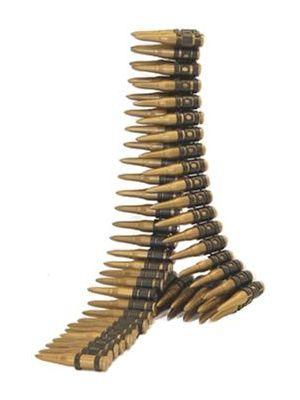 Bullet Belt 96 Bullets 162cm