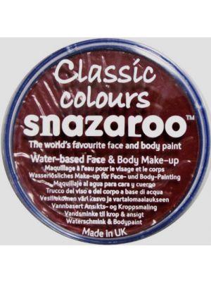 Burgundy Snazaroo 18ml Face Paint 1118866