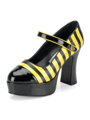 Bumble Bee Patent Shoes