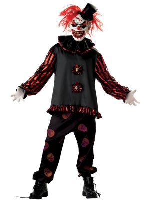 Carver the Killer Clown Costume 3255