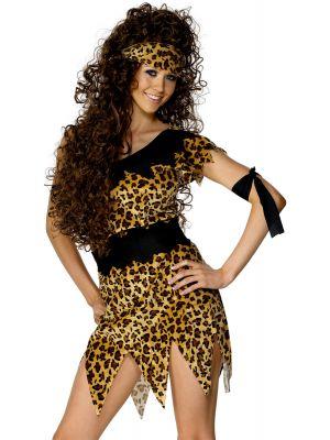 Deluxe Cavewoman Costume Smiffys 28600