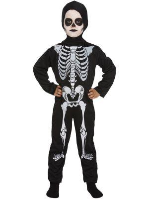 Child Skeleton Bodysuit with Hood V20100/V20101
