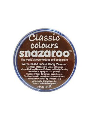 Dark Brown Snazaroo 18ml Face Paint